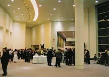 Reception at the Rhode Island Convention Center